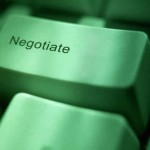 Negotiation button