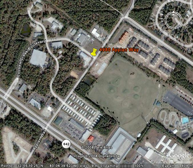 Aerial of Carolina Rentals